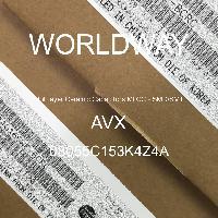 08055C153K4Z4A - AVX Corporation - Condensateurs céramique multicouches MLCC - S