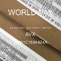 08051C153K4Z4A - AVX Corporation - Condensateurs céramique multicouches MLCC - S