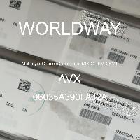 06035A390FAJ2A - AVX Corporation - Condensateurs céramique multicouches MLCC - S