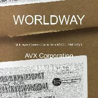 05043A181JAT1A - AVX Corporation - Condensateurs céramique multicouches MLCC - S