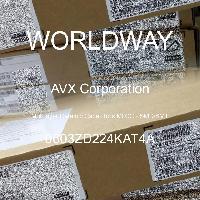 0603ZD224KAT4A - AVX Corporation - Multilayer Ceramic Capacitors MLCC - SMD/SMT