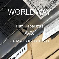 04023J1R1BBSTR/500 - AVX Corporation - Capacitores de filme