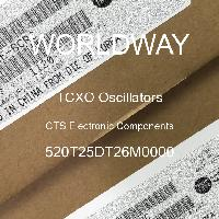 520T25DT26M0000 - CTS Electronic Components - Osilator TCXO