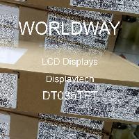 DT035TFT - Displaytech - LCD Menampilkan