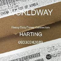 09330242689 - HARTING - Konektor Daya Tugas Berat