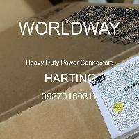 09370160318 - HARTING - Konektor Daya Tugas Berat