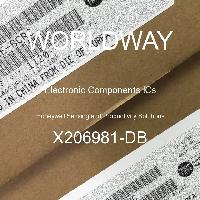 X206981-DB - Honeywell Sensing and Productivity Solutions - 전자 부품 IC