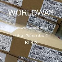 IGBT Transistors IGBT w//INTG DIODE 600V 5A Pack of 100 IKD03N60RFATMA1