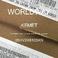05HV24B105KN - Kemet Electronics - Multilayer Ceramic Capacitors MLCC - Leaded
