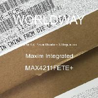 MAX4211FETE+ - Maxim Integrated Products