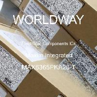 MAX6365PKA26-T - Maxim Integrated Products