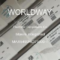 MAX5492RC01000-T - Maxim Integrated