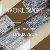 MAX668EUR - Maxim Integrated