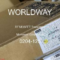 0204-125 - Microsemi Corporation - RF MOSFETトランジスタ