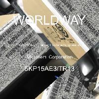 5KP15AE3/TR13 - Microsemi Corporation - Diodos TVS - Supresores de voltaje transitori