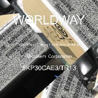 5KP30CAE3/TR13 - Microsemi Corporation - TVSダイオード-過渡電圧サプレッサ
