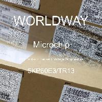 5KP60E3/TR13 - Microsemi - Diodes TVS - Suppresseurs de tension transito