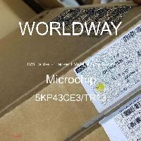 5KP43CE3/TR13 - Microsemi - Diodos TVS - Supresores de voltaje transitori