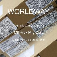 M 0122-0-15-80-30-84-04-0 - Mill-Max Mfg Corp - Electronic Components ICs