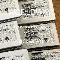 51005-0201 - Molex - Header & Rumah Kawat