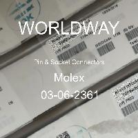 03-06-2361 - Molex - ピン&ソケットコネクタ