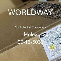 09-18-5032 - Molex - ピン&ソケットコネクタ