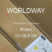 02-06-5104 - Molex - ピン&ソケットコネクタ