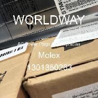 1301350263 - Molex - AC電源プラグおよびレセプタクル