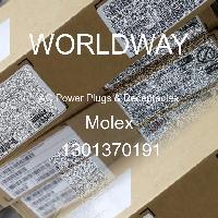 1301370191 - Molex - AC電源プラグおよびレセプタクル