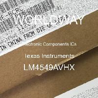 LM4549AVHX - National Semiconductor Corporation