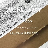 UUJ2A221MNL1MS - Nichicon - Aluminum Electrolytic Capacitors - SMD