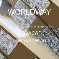 0805D102F250PH - NOVACAP - Capacitores de cerâmica multicamada MLCC - SM