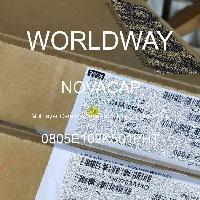 0805E102K501PHT - NOVACAP - Capacitores de cerâmica multicamada MLCC - SM