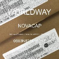0603N821F160YT - NOVACAP - Multilayer Ceramic Capacitors MLCC - SMD/SMT