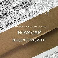 0805E151K102PHT - NOVACAP - Kapasitor Keramik Multilayer MLCC - SMD / SMT