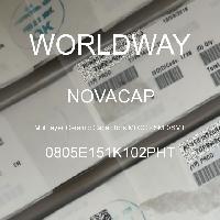0805E151K102PHT - NOVACAP - Multilayer Ceramic Capacitors MLCC - SMD/SMT