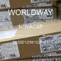 0805E121K102PHT - NOVACAP - Tụ gốm nhiều lớp MLCC - SMD / SMT
