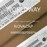 0805D330F251PH - NOVACAP - Capacitores de cerâmica multicamada MLCC - SM