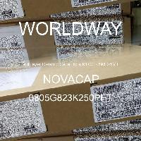 0805G823K250PHT - NOVACAP - Multilayer Ceramic Capacitors MLCC - SMD/SMT
