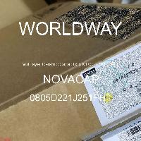 0805D221J251PHT - NOVACAP - Multilayer Ceramic Capacitors MLCC - SMD/SMT