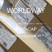 0805D100J250KHT - NOVACAP - Multilayer Ceramic Capacitors MLCC - SMD/SMT