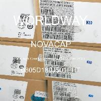 0805D180J501PHT - NOVACAP - Multilayer Ceramic Capacitors MLCC - SMD/SMT
