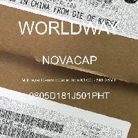 0805D181J501PHT - NOVACAP - Multilayer Ceramic Capacitors MLCC - SMD/SMT