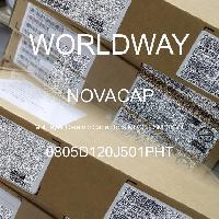 0805D120J501PHT - NOVACAP - Multilayer Ceramic Capacitors MLCC - SMD/SMT