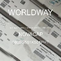 0805G561K501PHT - NOVACAP - Multilayer Ceramic Capacitors MLCC - SMD/SMT