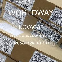 0805G272K101PHT - NOVACAP - Multilayer Ceramic Capacitors MLCC - SMD/SMT