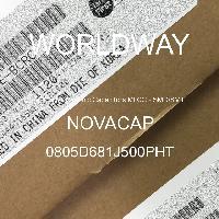 0805D681J500PHT - NOVACAP - Multilayer Ceramic Capacitors MLCC - SMD/SMT