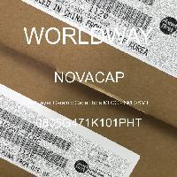 0805G471K101PHT - NOVACAP - Multilayer Ceramic Capacitors MLCC - SMD/SMT