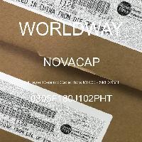 0805F180J102PHT - NOVACAP - Multilayer Ceramic Capacitors MLCC - SMD/SMT