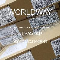 0805D150J102PHT - NOVACAP - Multilayer Ceramic Capacitors MLCC - SMD/SMT